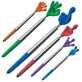 MA13415LB Długopis plastikowy CrisMa Smile Hand